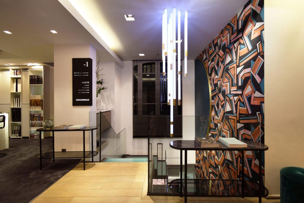 MTF Arte realisaties conceptstores metaalwerk op maat interieur